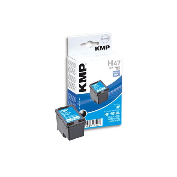 KMP Tinte schwarz ersetzt HP 901XL