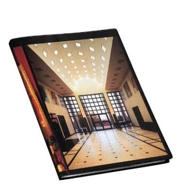 Sichtbuch mit Klarsicht-Cover 0,9 cm