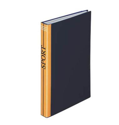 Sichtbuch schwarz 10 Hüllen