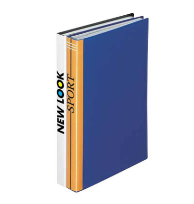 Sichtbuch blau 30 Hüllen