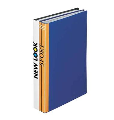 Sichtbuch blau 40 Hüllen