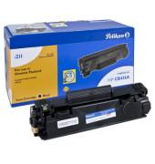 Toner schwarz ersetzt HP 36A