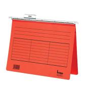Hängehefter Vetro Mobil A4 230g Karton rot kaufmännische Heftung 5 Stück