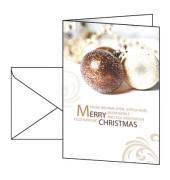 Weihnachtskarten Moments A6 10 Stück inkl. weißen Umschlägen DS344