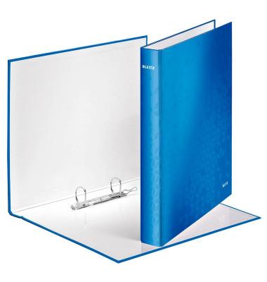 Ringbuch WOW A4 blau 2-Ring Ø 25mm
