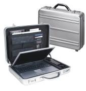 Notebook-Attachékoffer Mercato silber bis 17 Zoll