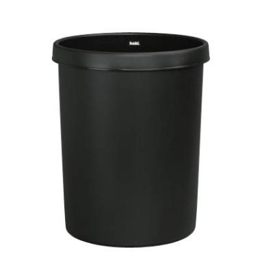 Papierkorb H61061, 30 Liter schwarz