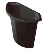 Abfalleinsatz 6 Liter für H61061/62 schwarz