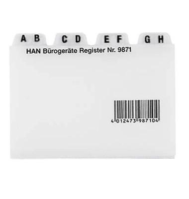 Kunststoff-Leitregister A7