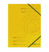 Eckspannmappe easy orga A4 355g gelb 5 Stück