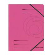 Eckspannmappe easy orga A4 355g pink 5 Stück