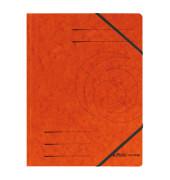 Eckspannmappe easy orga A4 355g orange 5 Stück
