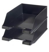 Briefablage 1047 Klassik XXL A4 / C4 schwarz stapelbar 2 Stück
