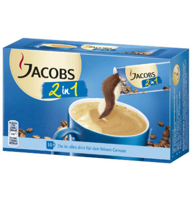 2in1 Instantkaffee 10 Beutel á 14g