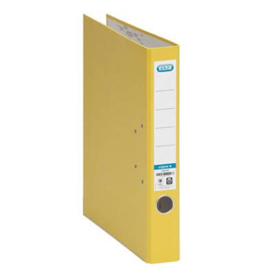 Smart Original 10415 gelb Ordner A4 50mm schmal