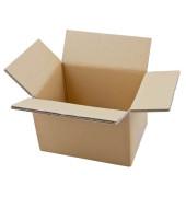Faltkartons 22,3 x 16,3 x 15,8cm braun 20 Stück Wellpappe