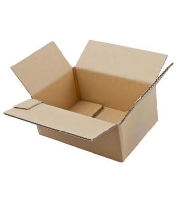 Faltkartons 22,5 x 16 x 10,2cm braun 20 Stück Wellpappe