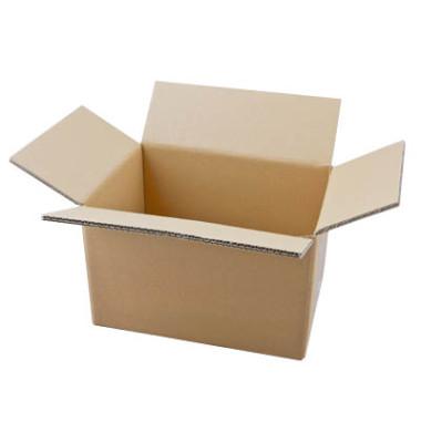Faltkartons 31,8 x 22,8 x 20,8cm braun 20 Stück Wellpappe
