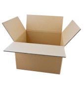 Faltkartons 49,3 x 41,3 x 34,8cm braun 20 Stück Wellpappe