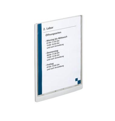 Türschild CLICK SIGN weiß A4 21,0 x 29,7 cm (BxH)