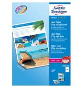 Laser-Fotopapier A4 1398 Premium beidseitig glänzend 200g 200 Blatt
