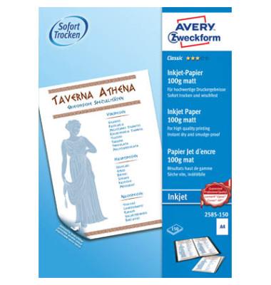 2585-150 Classic A4 100g Inkjetpapier weiß 150 Blatt