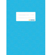 Heftschoner 7433 A5 Folie gedeckt hellblau