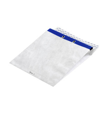 Versandtasche für schmale Ordner ohne Fenster haftklebend 68g weiß 326x318mm 50 Stück Tyvek Expander