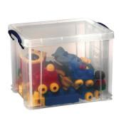 Aufbewahrungsbox transparent 19 l 255 x 290 x 395mm