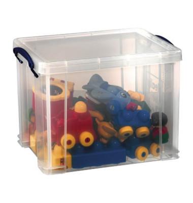 Aufbewahrungsbox 19C transparent 19 Liter 395 x 255 x 290mm