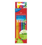 Buntstifte Jumbo Grip 6-farbig sortiert 9 x 175mm