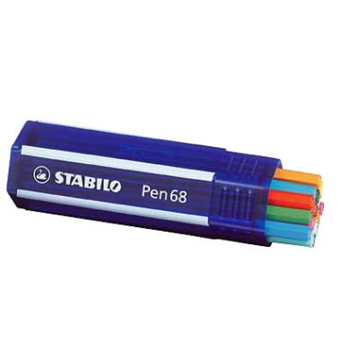 Fasermaler Pen 68 farbsortiert