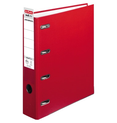 Doppelordner maX.file protect twin 2x A5-quer rot 70mm PP