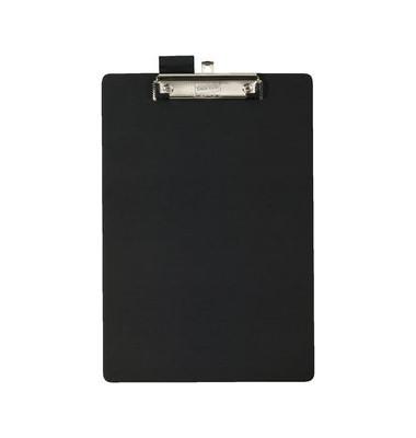 Klemmbrett 7228881 A4 schwarz Kunststoff mit Aufhängeöse