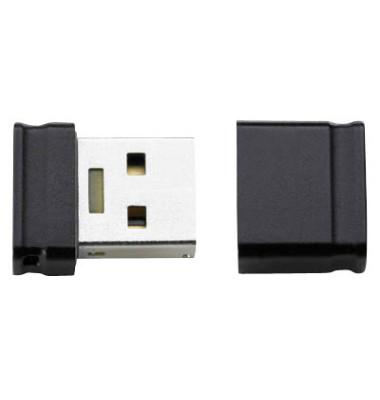 USB-Stick Micro Line USB 2.0 schwarz 4 GB