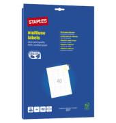Etikett A4 25 Blatt weiß 48,5x25,4mm 1000 St
