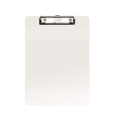 Klemmbrett 7265157 A4 transparent Kunststoff mit Aufhängeöse