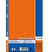 Einlagen/392505022 DIN A5 weiß kariert  70 g/qm  Inh.50