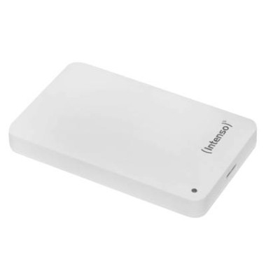 mobile Festplatte Memory Case weiß 1 TB