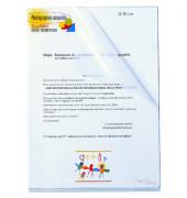 Sichthüllen 7202-7316146, A4, farblos, transparent, genarbt, 0,12mm, oben & rechts offen, PP