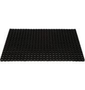 Schmutzfangmatte 100 x 150 cm schwarz für Außenbereich