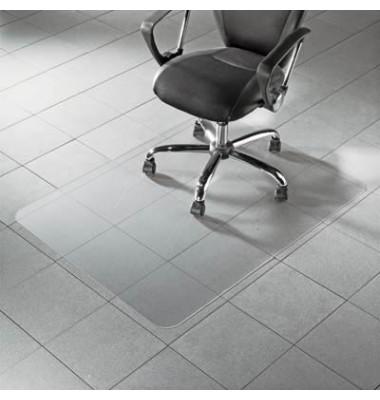 Bodenschutzmatte Master 153 x 117 cm Form O für Hartböden transparent PC