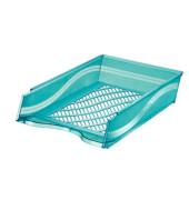 Briefablage 60100 A4 / C4 blau-transparent stapelbar