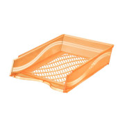 Briefablage 60100 A4 / C4 orange- transparent stapelbar