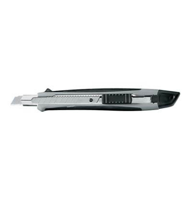 Cutter Softgrip schwarz/grau 9mm Klinge