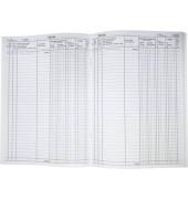 Waren- und Rechnungseingangsbuch 30013 A4 40 Blatt / 80 Seiten