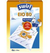 Staubsaugerbeutel EIO 80 MicroPor Plus AirSpace 4 Stück + 1 Filter
