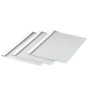Thermobindemappen 1,5mm Rückenbreite weiß 5-15 Blatt