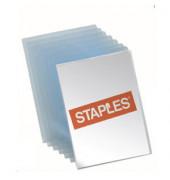 Sichthüllen 7436539, A4, farblos, transparent, genarbt, 0,08mm, oben & rechts offen, PP
