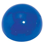 Magnete rund Halbkugelform blau